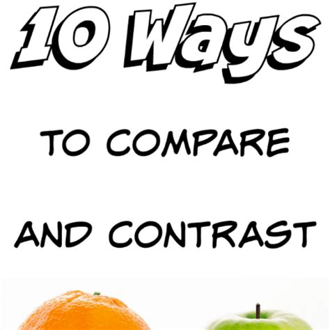 CHAPTER THE COMPARISON AND CONTRAST ESSAY